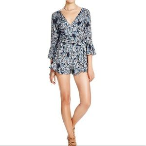 Free People All The Right Ruffles Romper XS